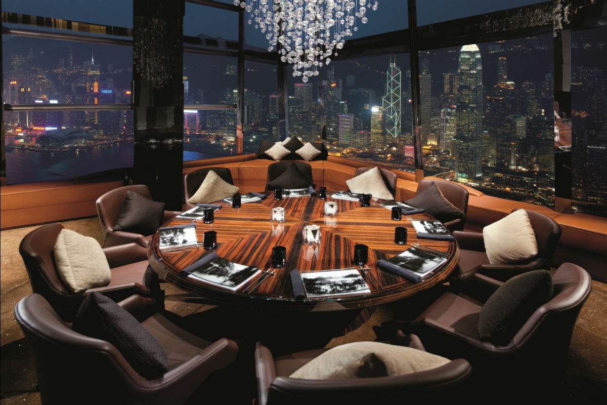 sky bar ozone hong kong review