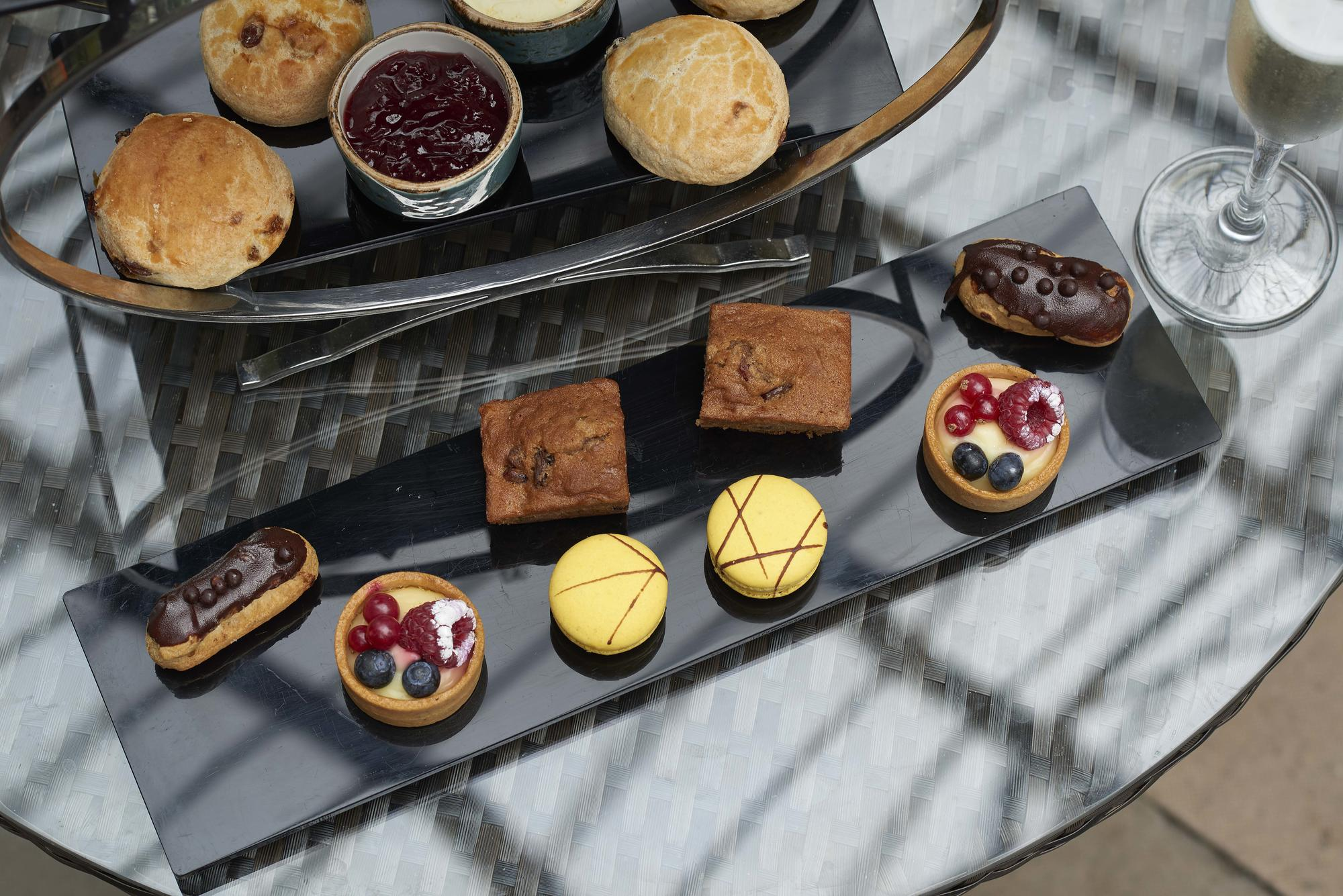 Conservatory afternoon tea Barbican Centre London