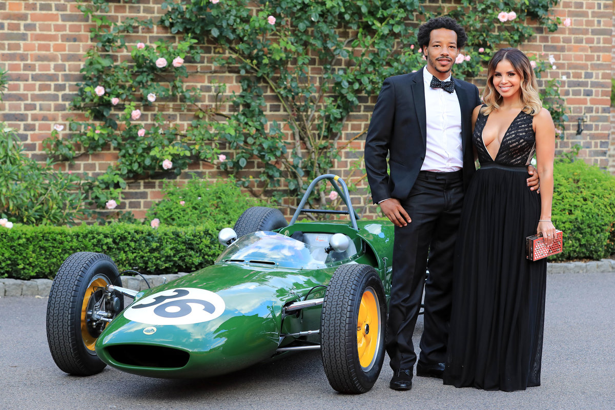 Shanie Ryan and Tony Sinclair British Formula One racing legends and celebrities turned heads on the red carpet at The Hurlingham Club this evening ahead of next week's British Grand Prix. The Grand Prix Ball, an annual social-calendar highlight, this year hosted by Tiff Needell, Eddie Jordan, David Coulthard and Christian Horner, raises thousands of pounds for charity each year and has now partnered with charity 'Wings for Life' spinal cord research foundation. Guests and celebrities looked stunning in their stylish outfits and were treated to an exclusive F1 demonstration before a Gala dinner, charity auction and performances by The Gipsy Kings and DJ Seb Fontaine took place.