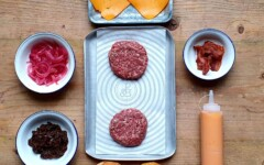 The Patty & Bun Burger and Beer Kit is £33 at www.plateaway.com